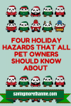 Four Holiday Hazards That All Pet Owners Should Know About