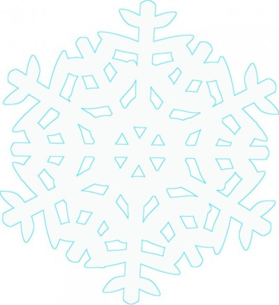 All About Snowflakes--Plus Free Coloring Pages/Templates, Word Search, Clip Art, Backgrounds, & Gift Tag winterandsparrow.com