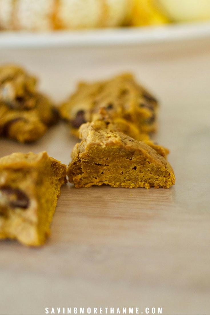 Chunky Pumpkin Chocolate Bites #recipes