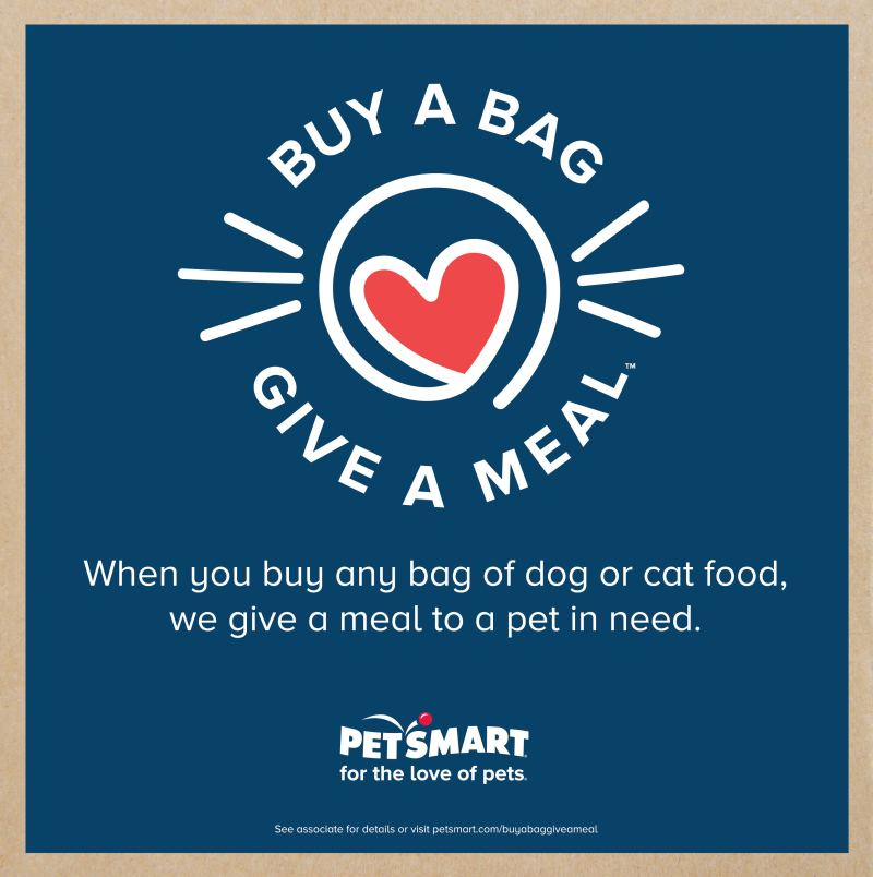 Help Feed Hungry Cats and Dogs With The @petsmart Buy A Bag, Give a Meal™ Program #fortheloveofpets #ad