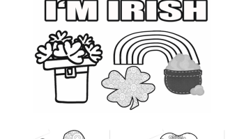 That Time I Was In A Parade Free St Patricks Day Coloring Pages