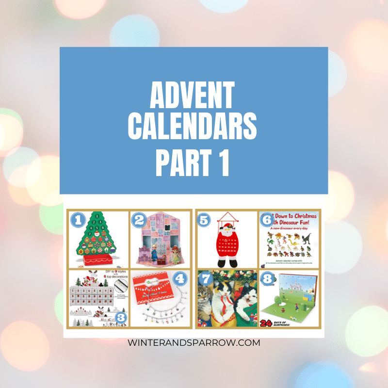 24 Christmas Advent Calendars {one for every budget} including the super popular Christmas Advent Calendar LEGO kit! | winterandsparrow.com #christmasadventcalendar #christmasadventcalendarlego #legoadventcalendar #adventcalendarwine