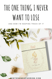 The One Thing I Never Want To Lose and How I'm Keeping Track Of It #TileIt #ad winterandsparrow.com