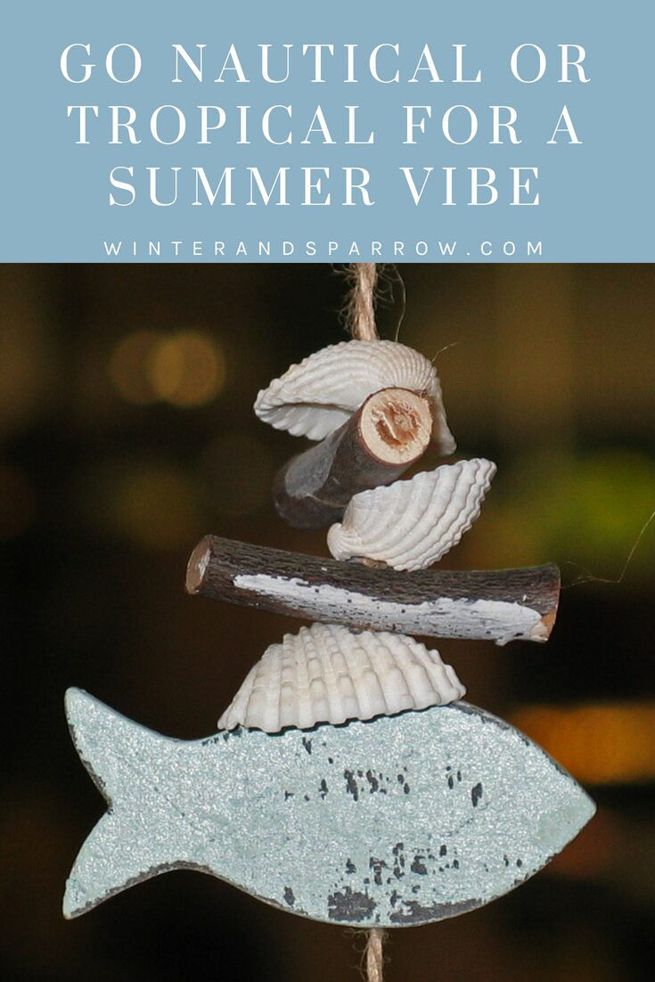 Let The Sun Shine: 6 Ways To Add Bits Of Summer To Your Home   winterandsparrow.com #summerdecorating #summerdecorationideas #summerdecor