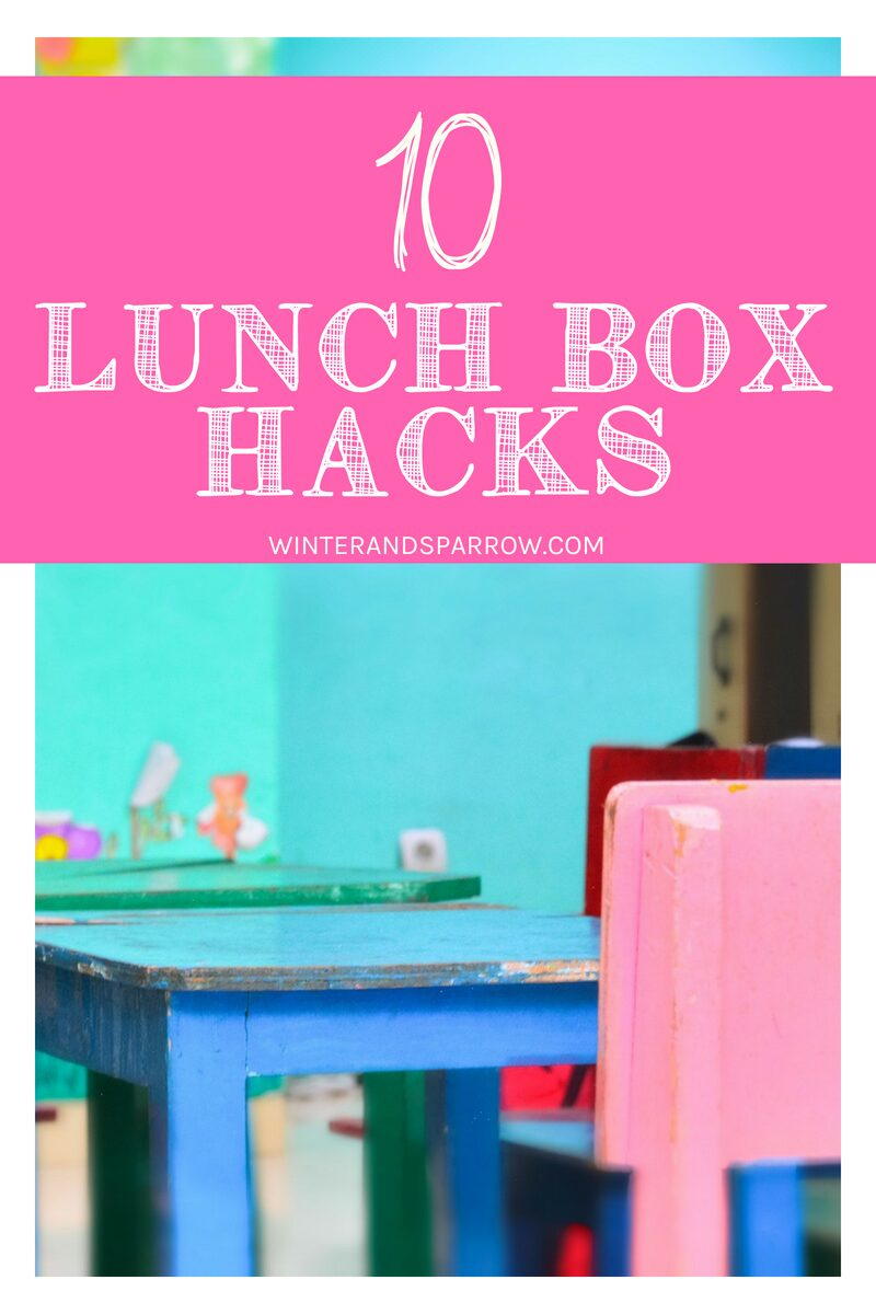 10 Lunch Box Hacks: Tips + Tricks For Kids Lunch Boxes | winterandsparrow.com #lunchboxhacks #bts #lunchboxtips