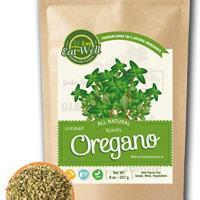 Oregano Leaves | 5 oz - 142 g Reseable Bag, Bulk | Mediterranean Natural Leaf |100% Natural Dried Oregano Leaves | Herbal Tea | Herbs & Spices | Eat Well Premium Foods