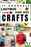 27 Adorable Ladybug Crafts (and Bee Crafts)