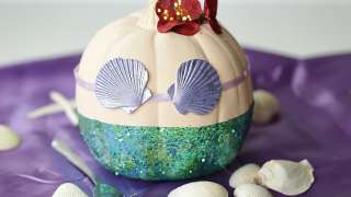 Disney The Little Mermaid Pumpkin