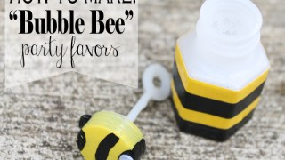 """How to Make """"Bubble Bee"""" Party Favors"""