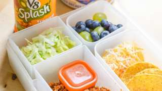 Taco Lunch Kit for Back To School