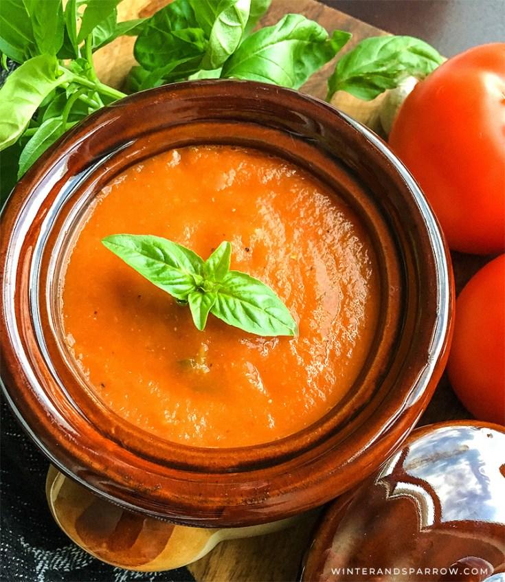 Instant Pot® Tomato Soup
