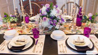 Elegant Thanksgiving Table Decor