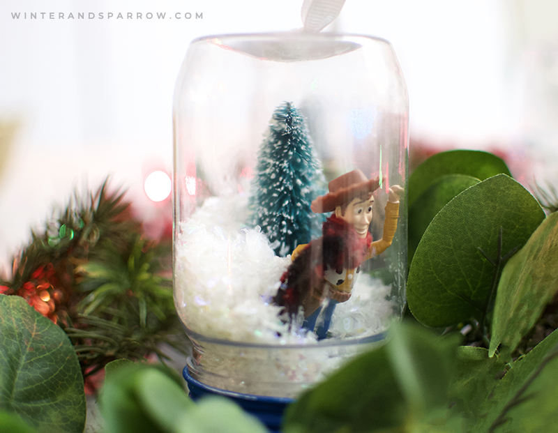 Toy Story Crafts: Cheap But Cute Christmas Ornaments | winterandsparrow.com #toystorycrafts #toystorycraftideas #toystorycraftsforkids #toystory4crafts #toystorycraftideas #toystorychristmasornaments