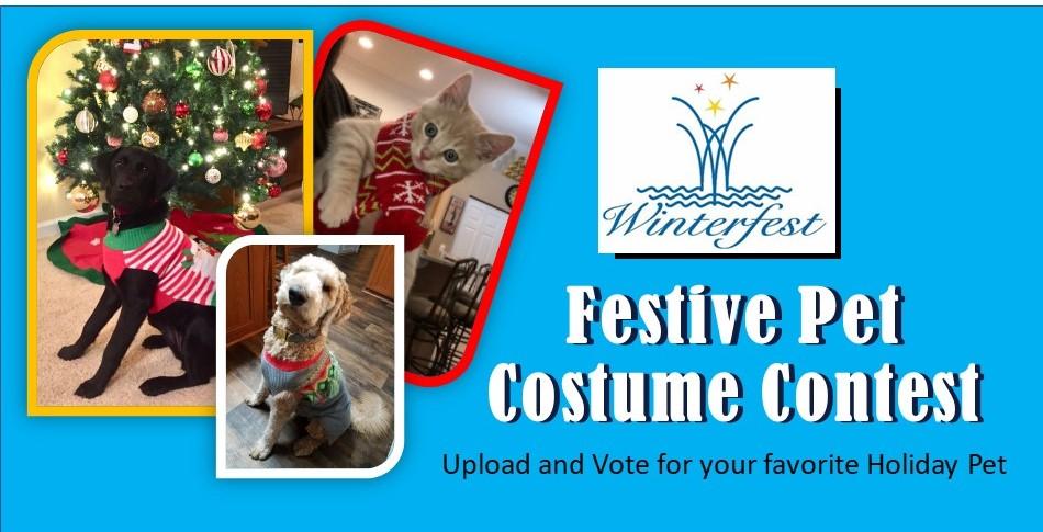 The Winterfest Festive Pet Costume Contest
