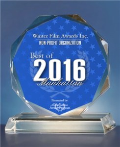 Winter Film Awards Inc. honored with 2016 Best of Manhattan Award