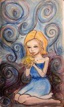 star gazing, drawing, sketch, art