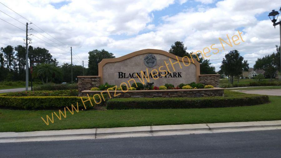 Black Lake Park homes for sale. Winter Garden Florida Entrance Sign