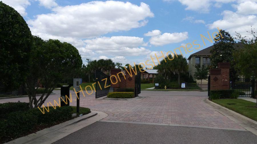 Johns Landing homes for sale Gated Community Winter Garden Florida. real estate