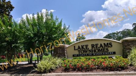 Lake Reams Townhomes for sale. At lakes of Windermere. Close to Disney Florida
