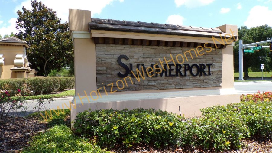 Summerport WIndermere Florida Community Subdivision