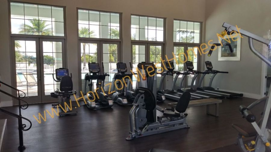 Waterside homes for sale. fitness center