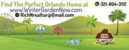 Case in vendita-Winter Garden-Windermere Orlando & Kissimmee