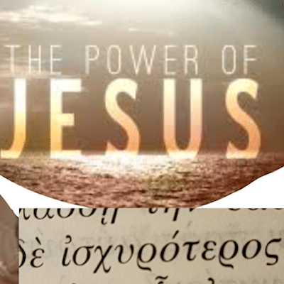 The power of Jesus