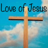 Love of Jesus with Cross
