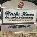 Winter Haven OBGYN sign