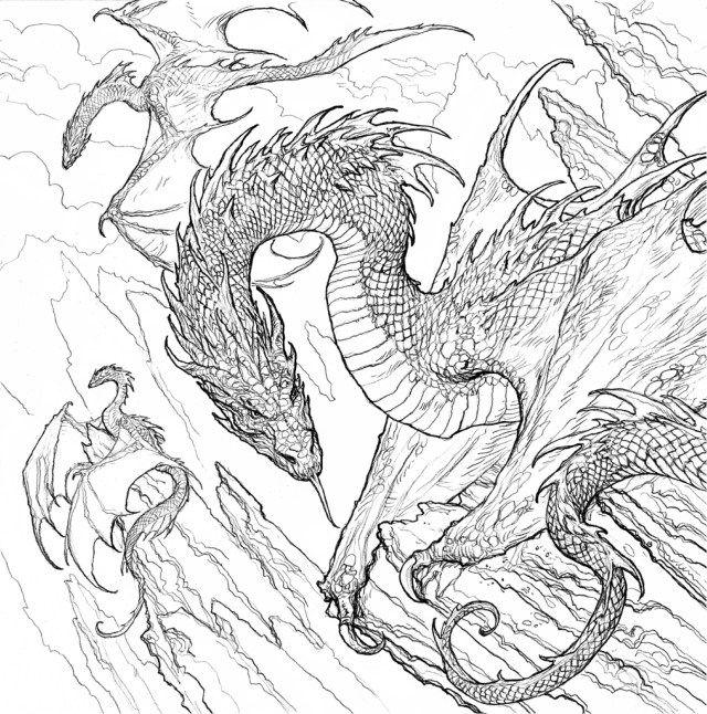 A sneak peak at the Game of Thrones coloring book - Winter is Coming
