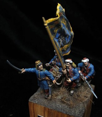 The red devils 28mm Perry miniatures
