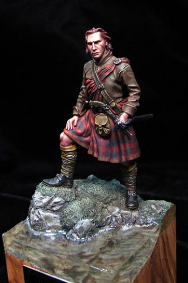 Rob Roy 54mm Andrea Miniatures
