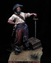 Bucanero 54mm Andrea Miniatures