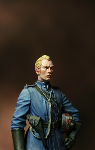 BRITISH OFFICER CAMEL GUARD 54mm Toisón Studio