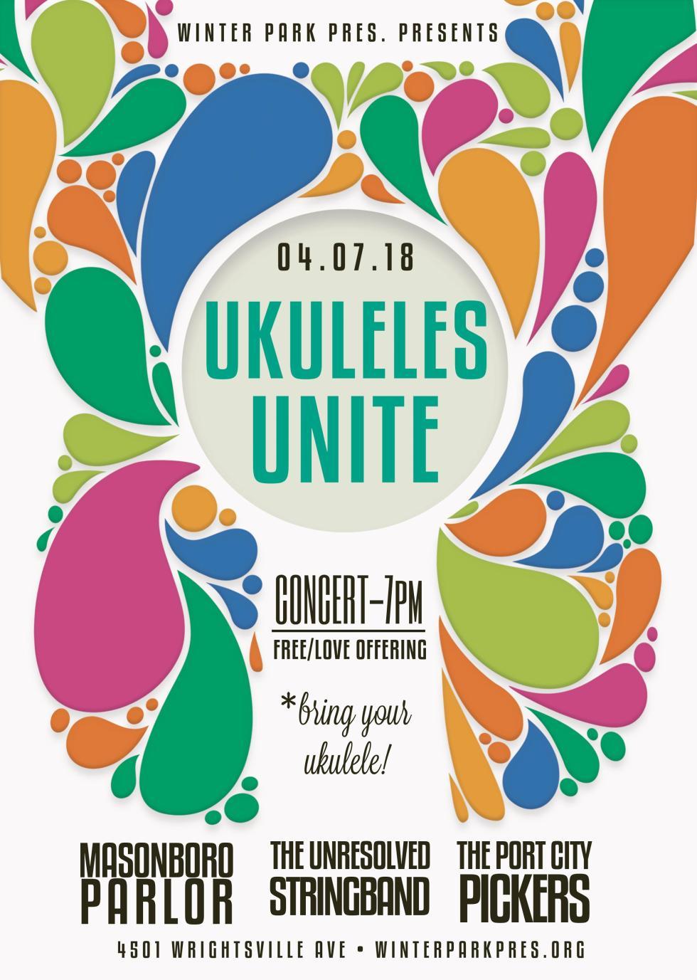 Ukuleles Unite Flyer