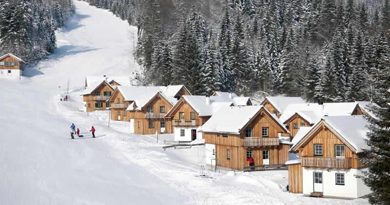 TUI wintersport aan de piste