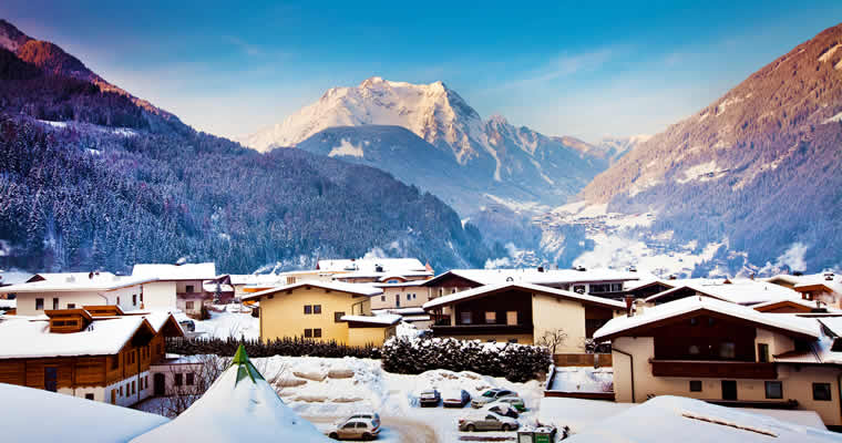 Aanbiedingen wintersport Mayrhofen