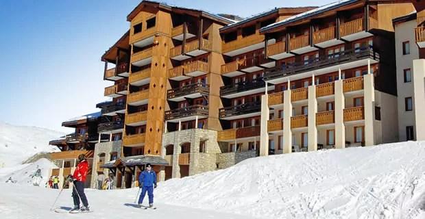 Pierre et Vacances Ski-in en Ski-out