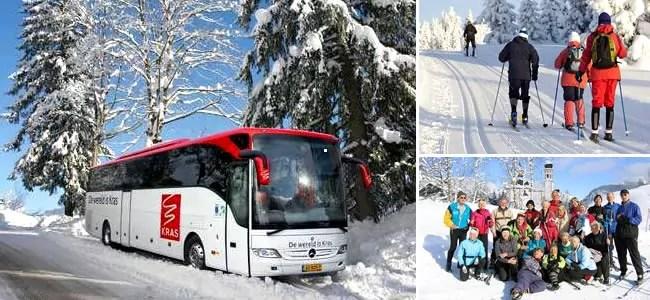 Kras Wintersport reizen, langlaufreizen en winterwandel vakanties