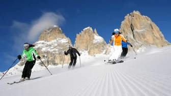 Wintersport en skiën in Val di Fassa