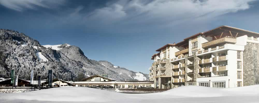Luxe hotel wintersport Grand Tirolia Kitzbühel
