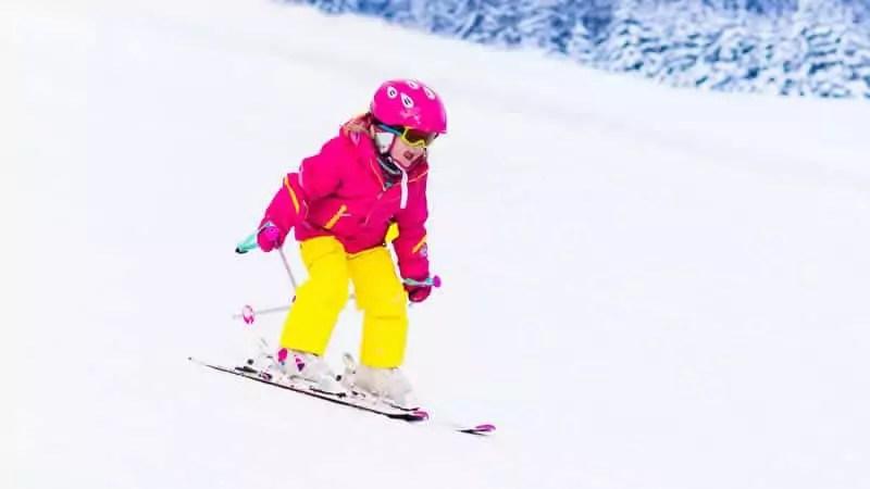 Wintersport met kleutes