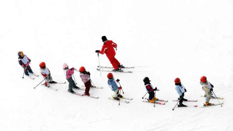 Wintersport met kinderen
