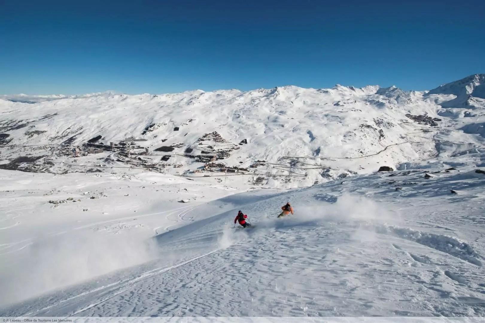 wintersport en aanbiedingen in Les Menuires