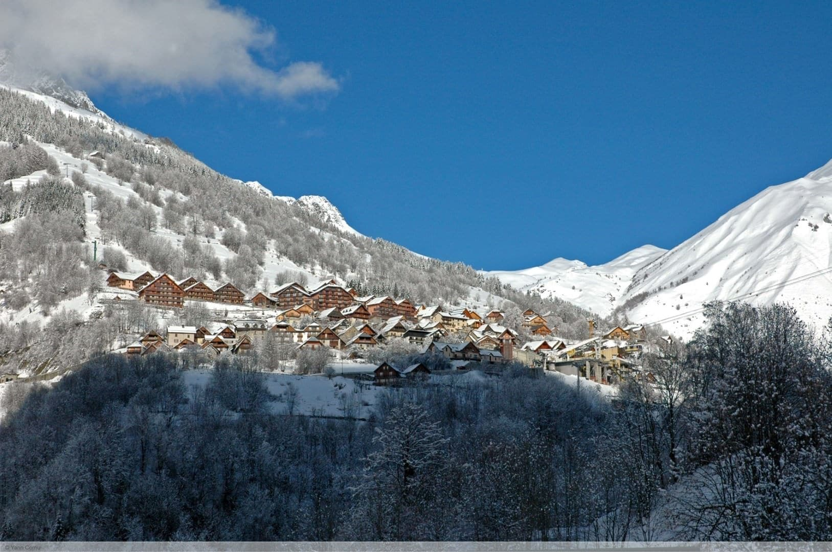 wintersport en aanbiedingen in Vaujany (Alpe d'Huez)