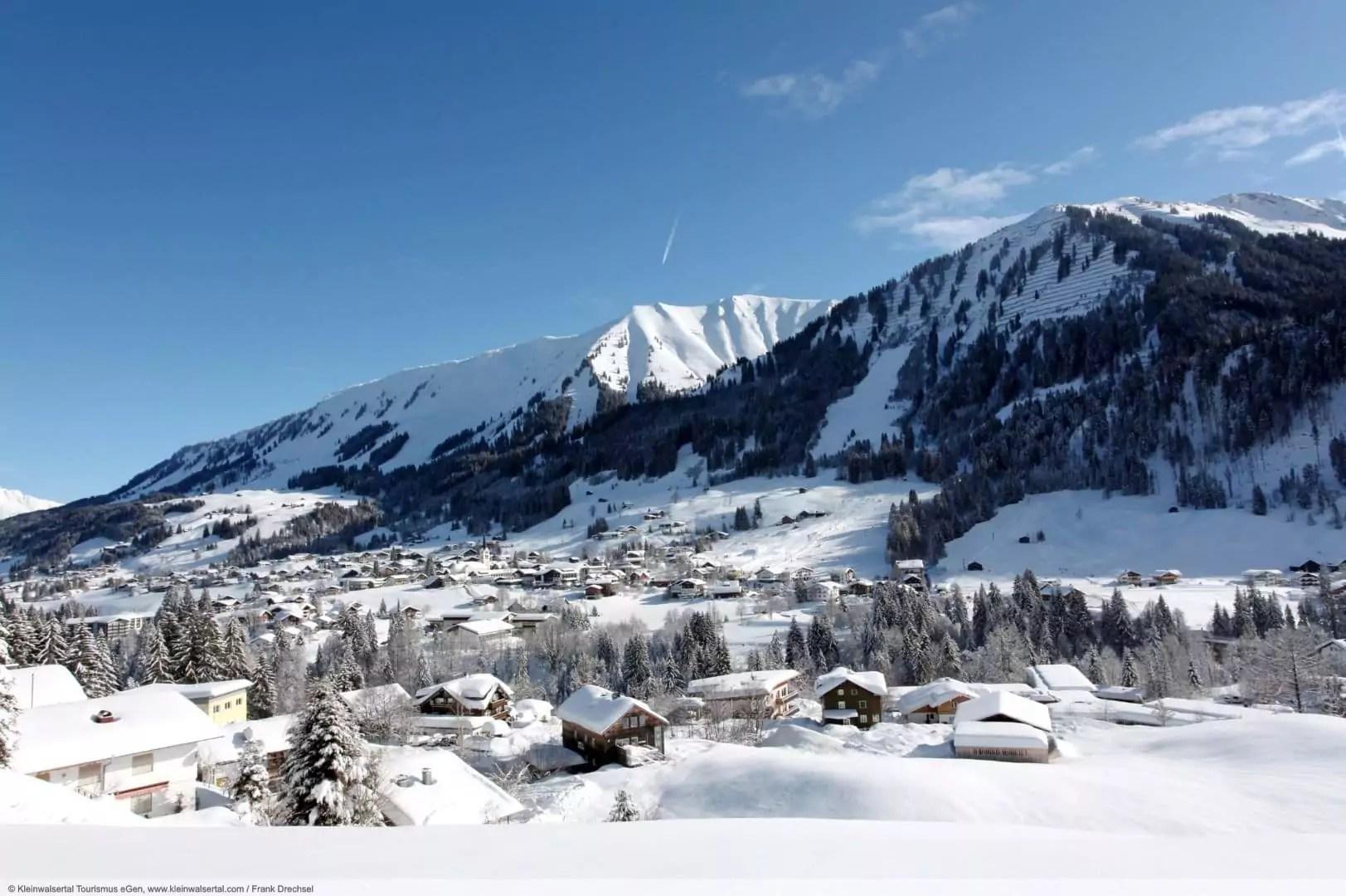 wintersport en aanbiedingen in Riezlern