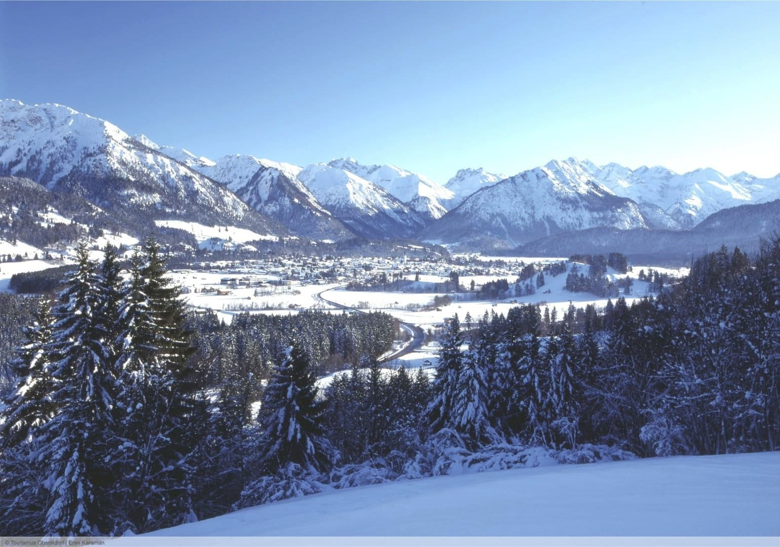 wintersport en aanbiedingen in Oberstdorf