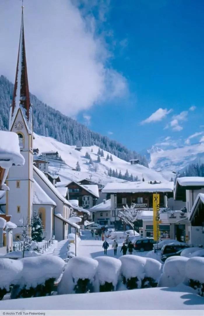 wintersport en aanbiedingen in Finkenberg