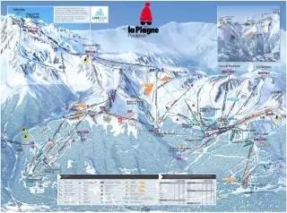 après-ski in La Plagne