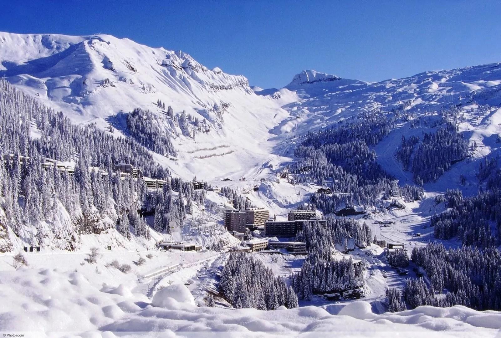 wintersport en aanbiedingen in Flaine